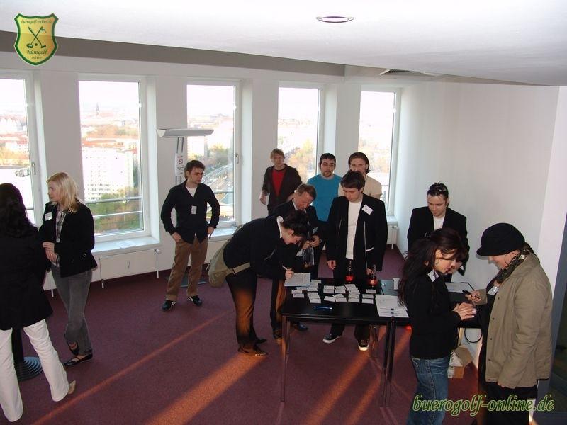 ... B?rogolf Club-Turnier im WTC World Trade Center Dresden am 17.04.2008